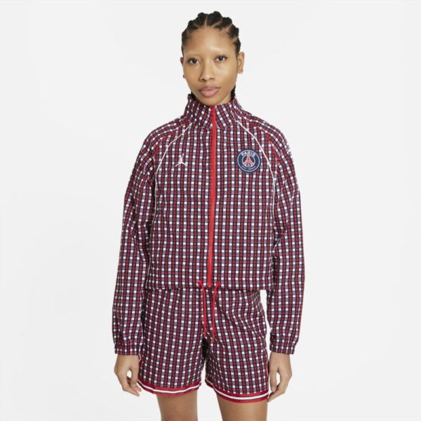 París Saint-Germain Chaqueta de tejido Woven - Mujer - Rojo