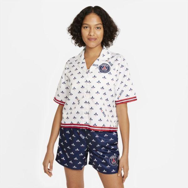 París Saint-Germain Camiseta de manga corta con estampado - Mujer - Blanco