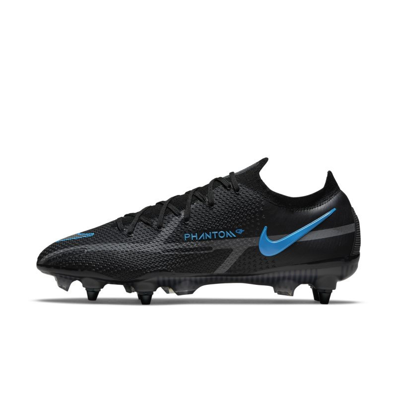 Nike Phantom GT2 Elite SG-Pro AC Botas de fútbol para terreno blando - Negro