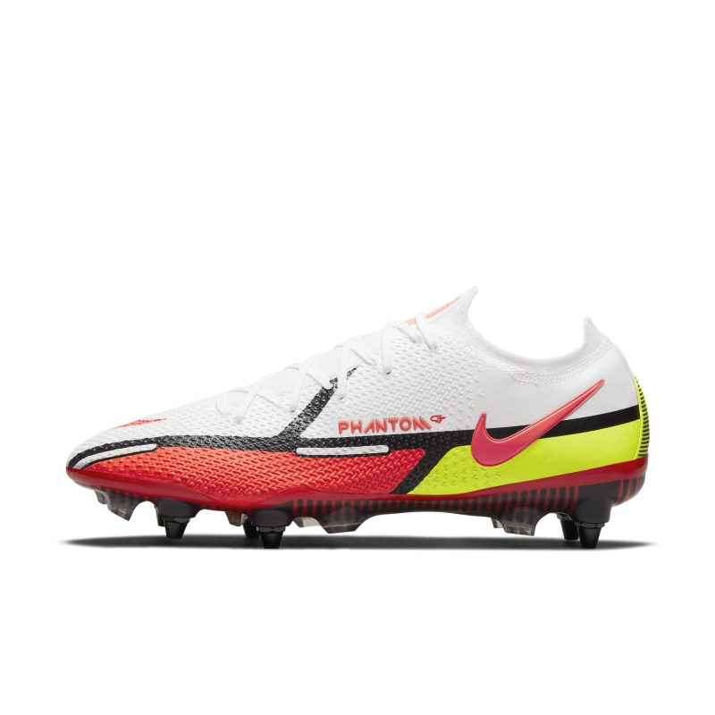 Nike Phantom GT2 Elite SG-Pro AC Botas de fútbol para terreno blando - Blanco