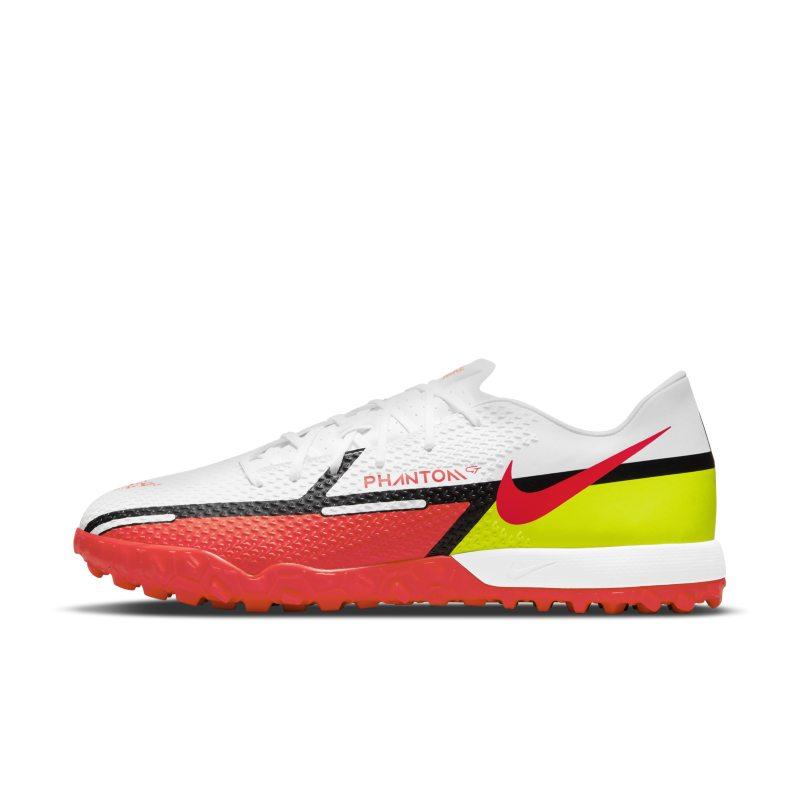 Nike Phantom GT2 Academy TF Botas de fútbol para moqueta - Turf - Blanco