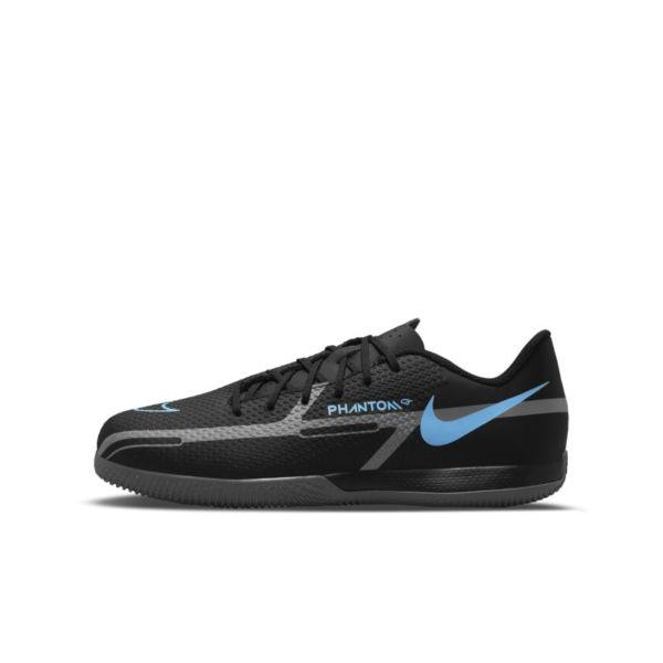 Nike Jr. Phantom GT2 Academy IC Botas de fútbol sala - Niño/a y niño/a pequeño/a - Negro