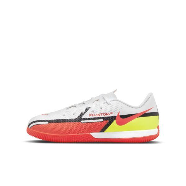 Nike Jr. Phantom GT2 Academy IC Botas de fútbol sala - Niño/a y niño/a pequeño/a - Blanco