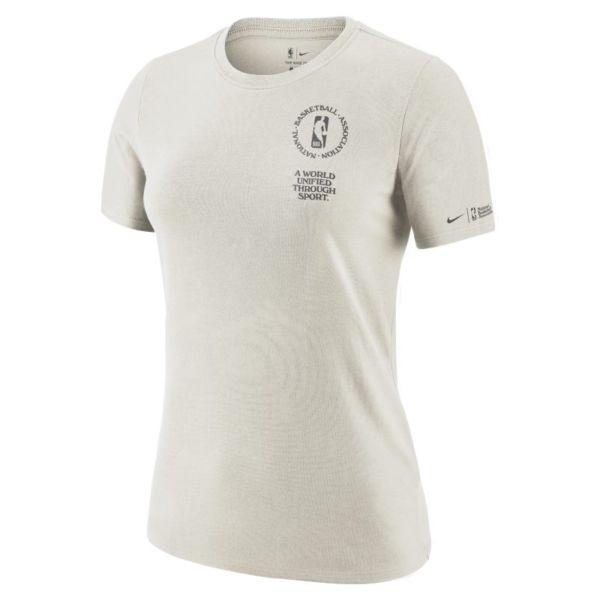 Team 31 Courtside Camiseta de manga corta Nike NBA - Mujer - Blanco