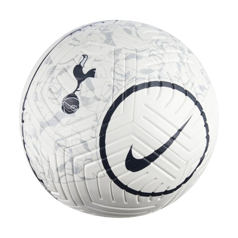 Tottenham Hotspur Strike Balón de fútbol - Blanco