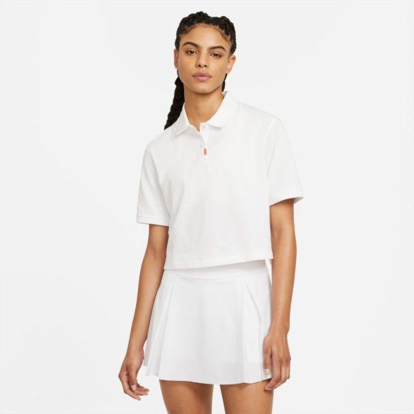 The Nike Polo Polo - Mujer - Blanco