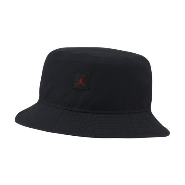Jordan Jumpman Sombrero tipo pescador desteñido - Negro