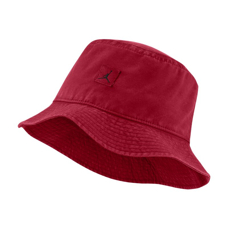 Jordan Jumpman Sombrero tipo pescador desteñido - Rojo
