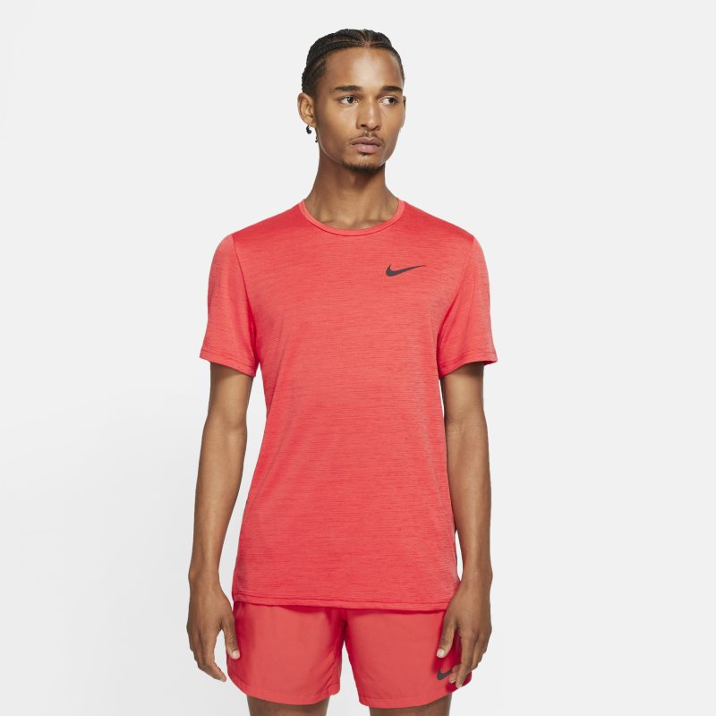 Nike Camiseta de manga corta - Hombre - Rojo