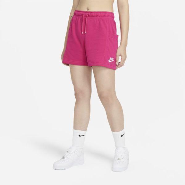 Nike Air Pantalón corto de tejido Fleece - Mujer - Rosa