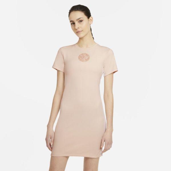 Nike Sportswear Femme Vestido de manga corta - Mujer - Naranja