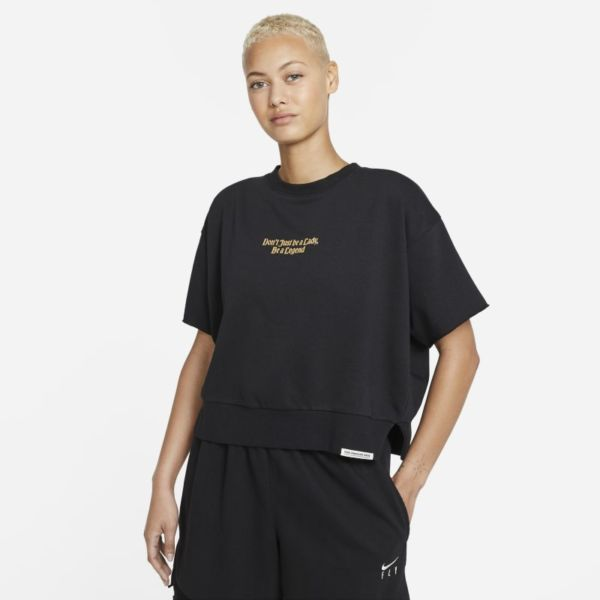 Nike Dri-FIT Standard Issue Camiseta de baloncesto - Mujer - Negro