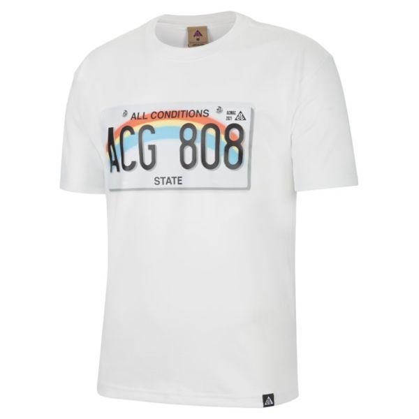 "Nike ACG ""License Plate"" Camiseta de manga corta - Hombre - Blanco"