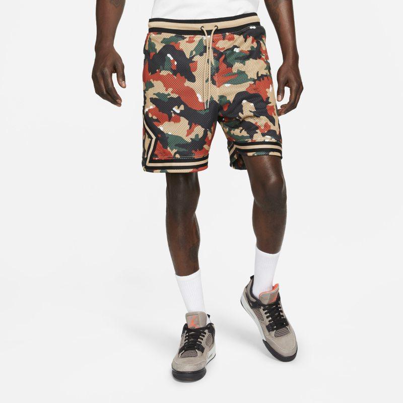 Jordan Flight Heritage Pantalón corto estampado con laterales de diamante - Hombre - Marrón