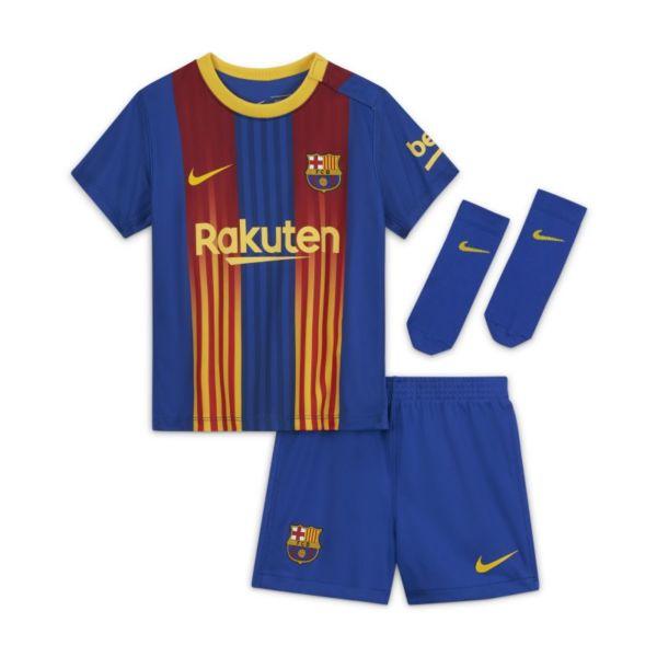 FC Barcelona 2020/21 Equipación de fútbol - Bebé e infantil - Azul