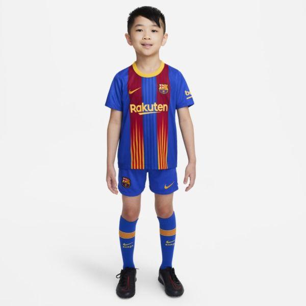 FC Barcelona 2020/21 Equipación de fútbol - Niño/a pequeño/a - Azul