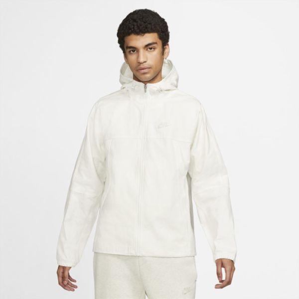 Nike Sportswear Chaqueta de lona - Hombre - Blanco