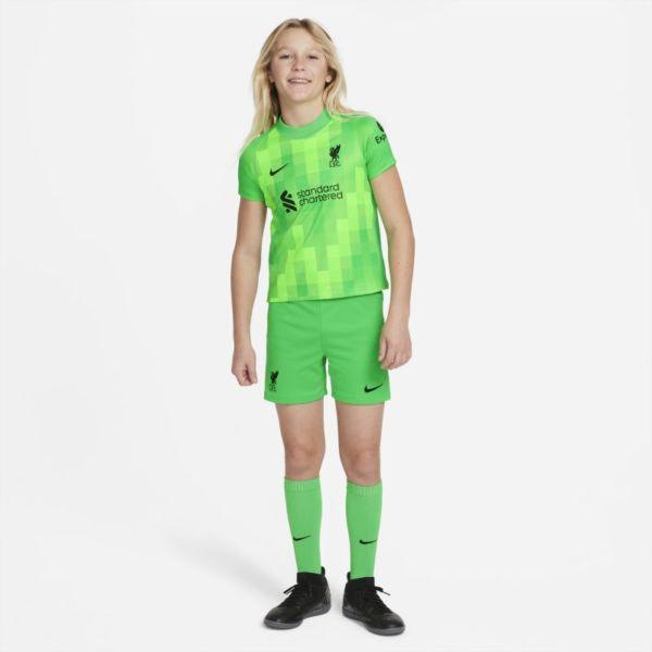 Equipación de portero Liverpool FC 2021/22 Equipación de fútbol - Niño/a pequeño/a - Verde