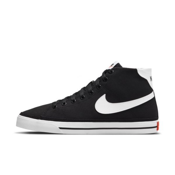 Nike Court Legacy Canvas Mid Zapatillas - Mujer - Negro