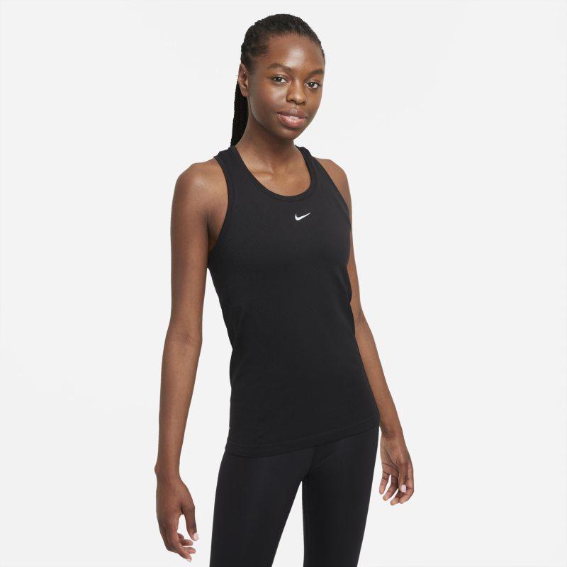 Nike Dri-FIT ADV Aura Camiseta de tirantes de ajuste entallado - Mujer - Negro