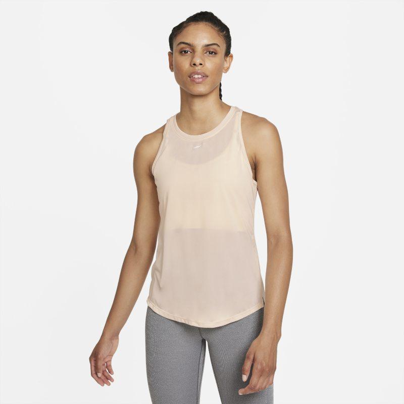 Nike Dri-FIT One Camiseta de tirantes de ajuste estándar - Mujer - Marrón