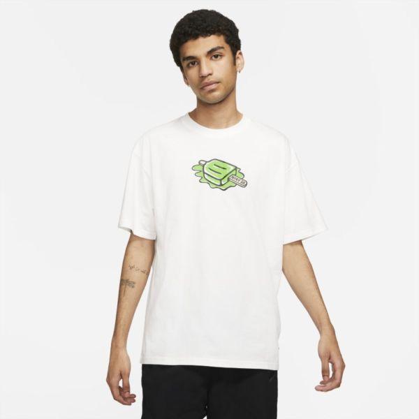 Nike SB Camiseta de skateboard - Blanco