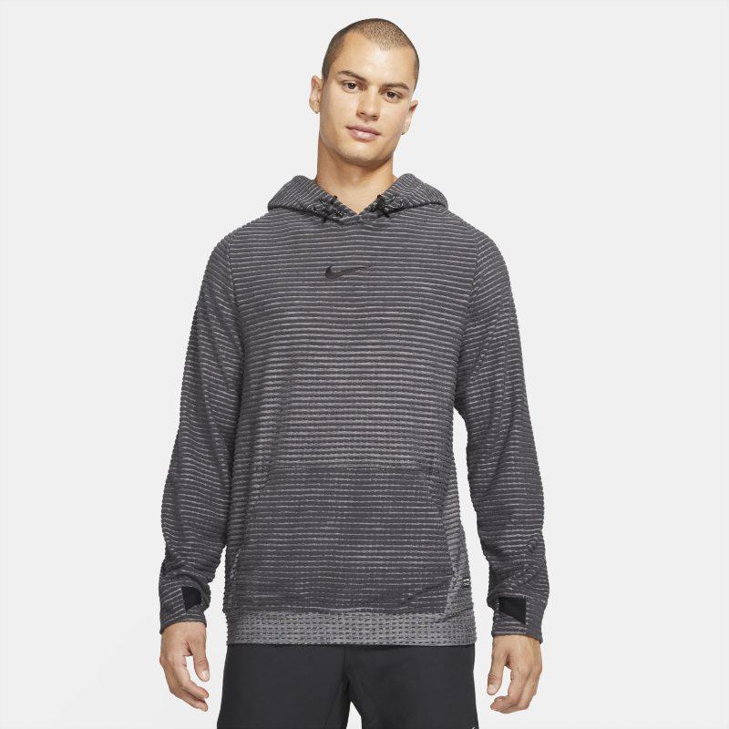 Nike Pro Therma-FIT ADV Sudadera con capucha de tejido Fleece - Hombre - Gris