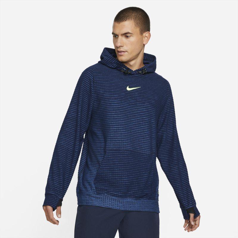 Nike Pro Therma-FIT ADV Sudadera con capucha de tejido Fleece - Hombre - Azul