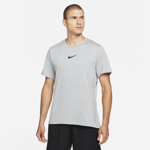 Nike Pro Dri-FIT Burnout Camiseta de manga corta - Hombre - Gris