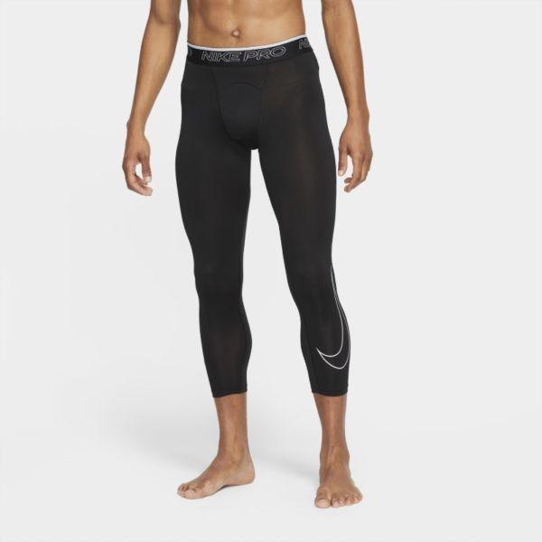 Nike Pro Dri-FIT Mallas de 3/4 - Hombre - Negro