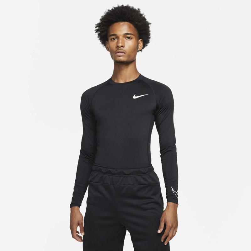 Nike Pro Dri-FIT Camiseta de manga larga y ajuste ceñido - Hombre - Negro