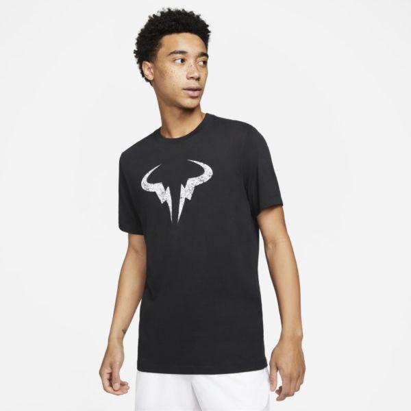 Rafa Camiseta de tenis - Hombre - Negro