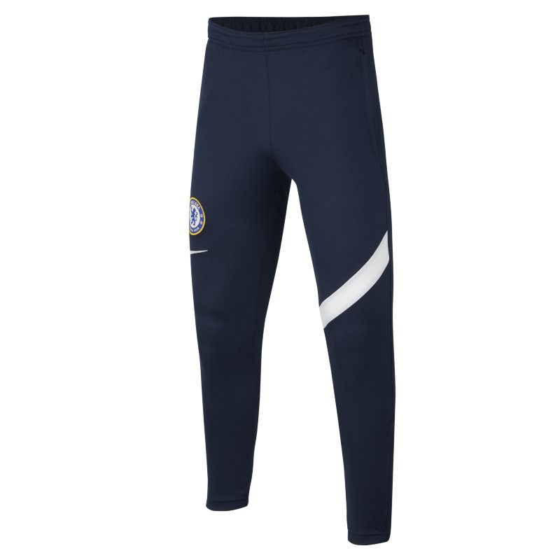 Chelsea FC Academy Pro Pantalón de fútbol Nike Dri-FIT - Niño/a - Azul