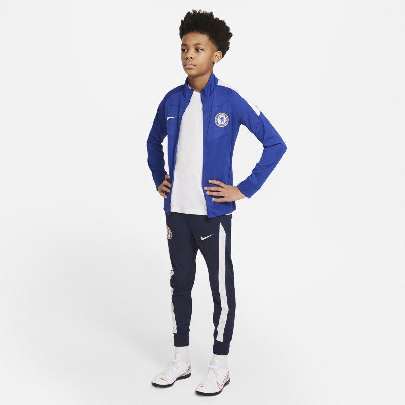 Chelsea FC Academy Pro Chándal de fútbol Nike Dri-FIT - Niño/a - Azul