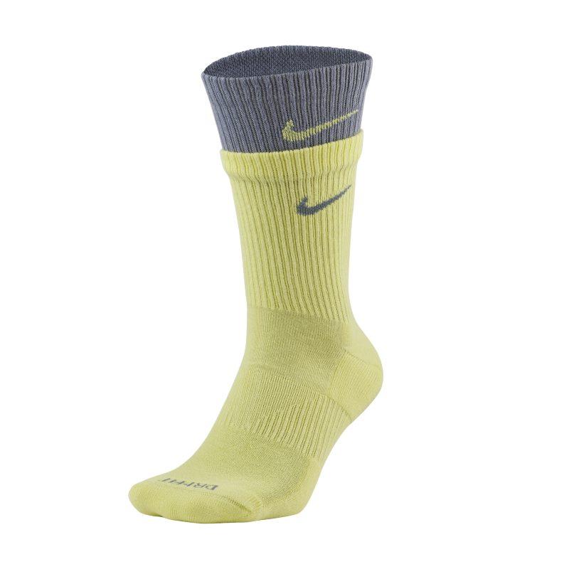 Nike Everyday Plus Cushioned Calcetines largos de entrenamiento - Amarillo