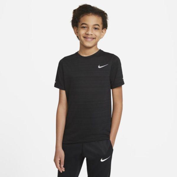 Nike Dri-FIT Miler Camiseta de entrenamiento - Niño - Negro