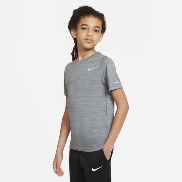 Nike Dri-FIT Miler Camiseta de entrenamiento - Niño - Gris