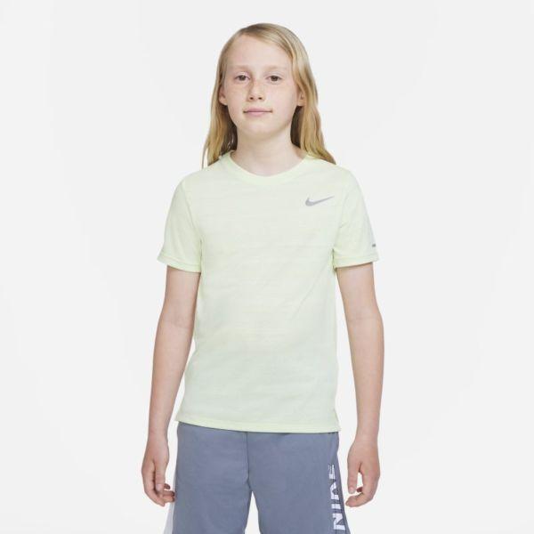 Nike Dri-FIT Miler Camiseta de entrenamiento - Niño - Verde