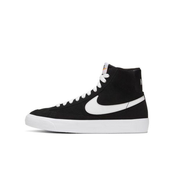 Nike Blazer Mid '77 Suede Zapatillas - Niño/a - Negro