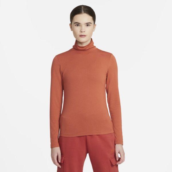 Nike Sportswear Camiseta de manga larga - Mujer - Naranja