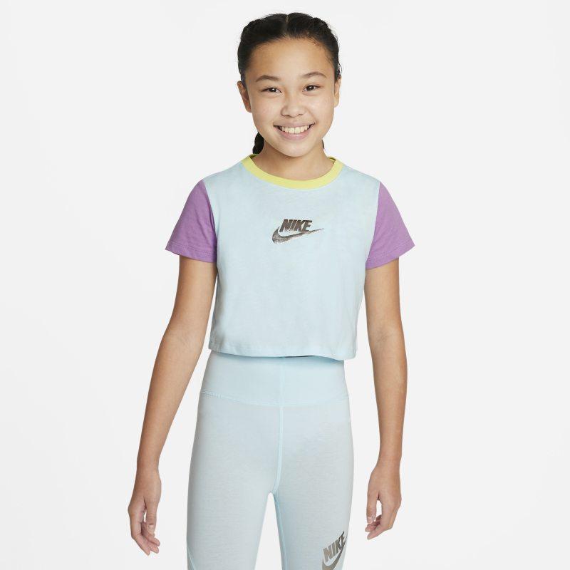 Nike Sportswear Camiseta corta - Niña - Azul