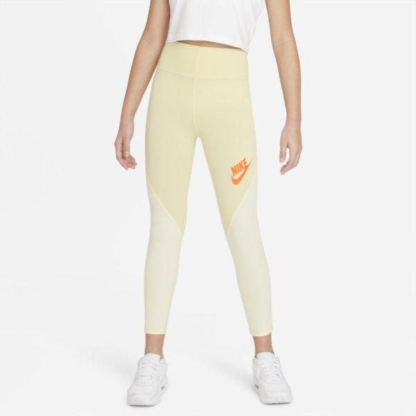 Nike Sportswear Favorites Leggings de talle alto - Niña - Amarillo