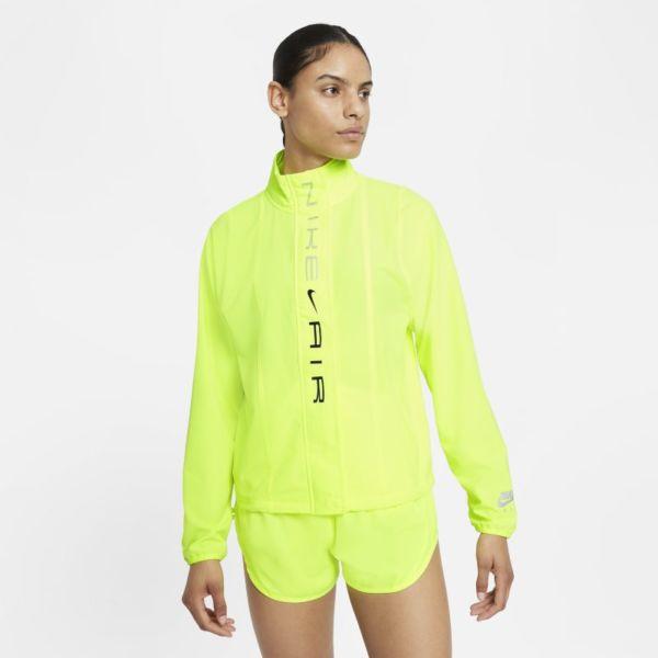 Nike Air Dri-FIT Chaqueta de running - Mujer - Amarillo