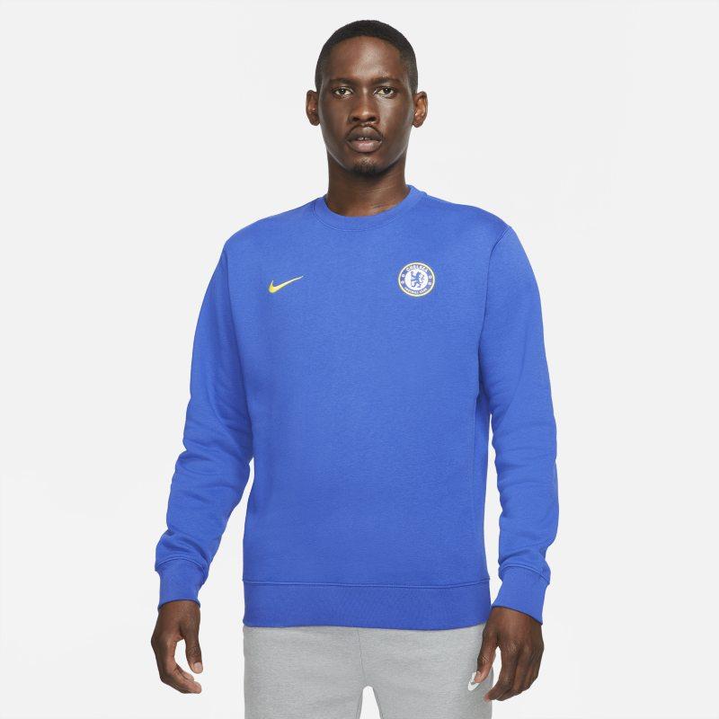 Chelsea FC Sudadera de chándal de tejido Fleece - Hombre - Azul