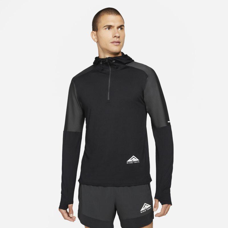 Nike Dri-FIT Trail Camiseta de trail running con media cremallera - Hombre - Negro