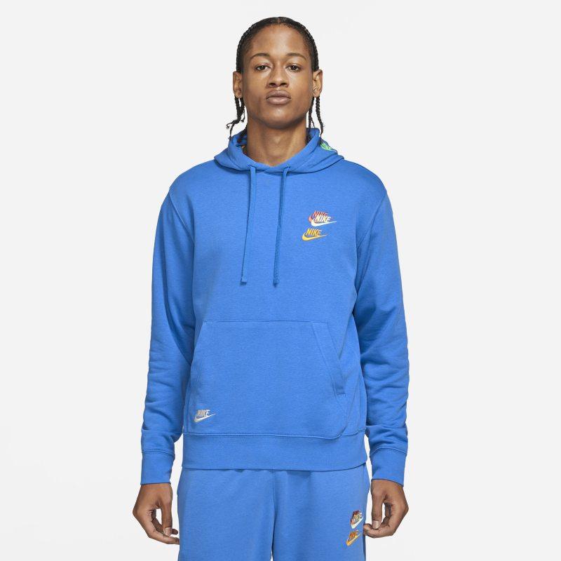 Nike Sportswear Essentials+ Sudadera con capucha de tejido French terry - Hombre - Azul