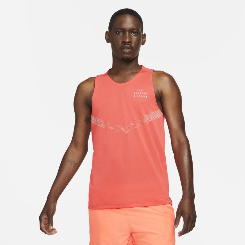 Nike Dri-FIT Rise 365 Run Division Camiseta de tirantes de running - Hombre - Naranja