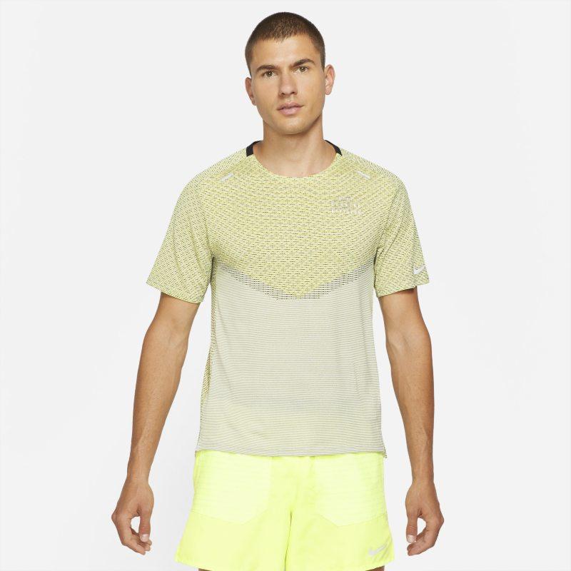 Nike Dri-FIT ADV Run Division Techknit Camiseta de manga corta - Hombre - Negro
