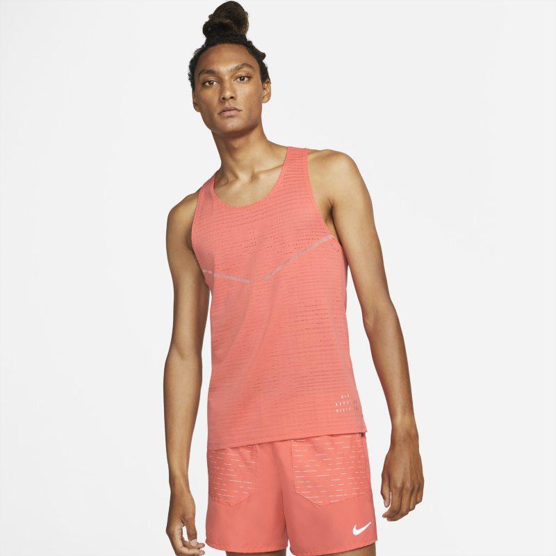 Nike Dri-FIT ADV Run Division Camiseta de tirantes de running - Hombre - Naranja