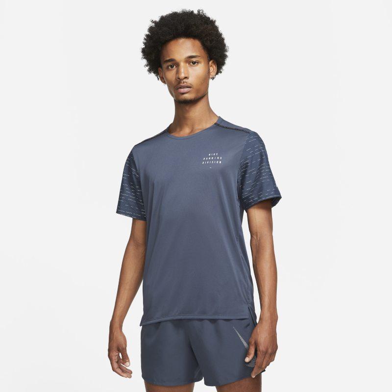 Nike Dri-FIT Rise 365 Run Division Camiseta de running de manga corta - Hombre - Azul